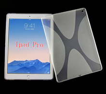 For iPad pro case s line tpu for ipad pro flexible soft gel case in stock Mix colors