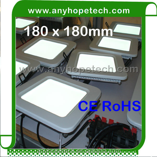 Good price best quality 17W 180*180mm battery backup led emergency ceiling light