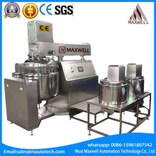 Homogenizing and dispersing lab mixer2 GMP Standard Industrial Vacuum Mixing Tanks laboratory homogenizer