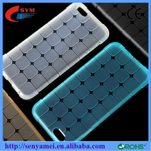 2015 Water Cube Style Design jelly soft TPU transparent clear Case For iPhone 5 5g 5s