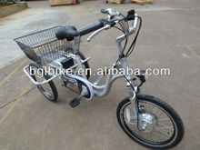 adult aluminum lithium electric tricycle practical, strong