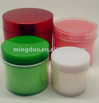 100g-400g double wall PS jar