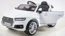 2016 New design Audi q7 Licensed ride on SUV car baby ride on toy car 12v electric cars