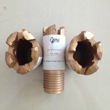 5 cutters 57 and 76mm PDC core dirll bit PDC coring drill bit