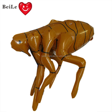 Promotion animal toy inflatable flea toy for display