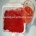 tomato paste with tin packing/tomato paste with drum packing/tomato paste with wooden bin packing