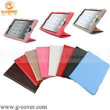 the best case For iPad mini Smart case Slim design,leather case for ipad mini,tablet case 7.9''