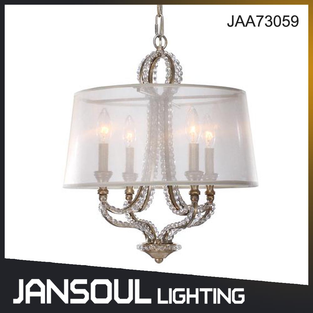 Traditional Style Chandelier Copper Pendant Lamp