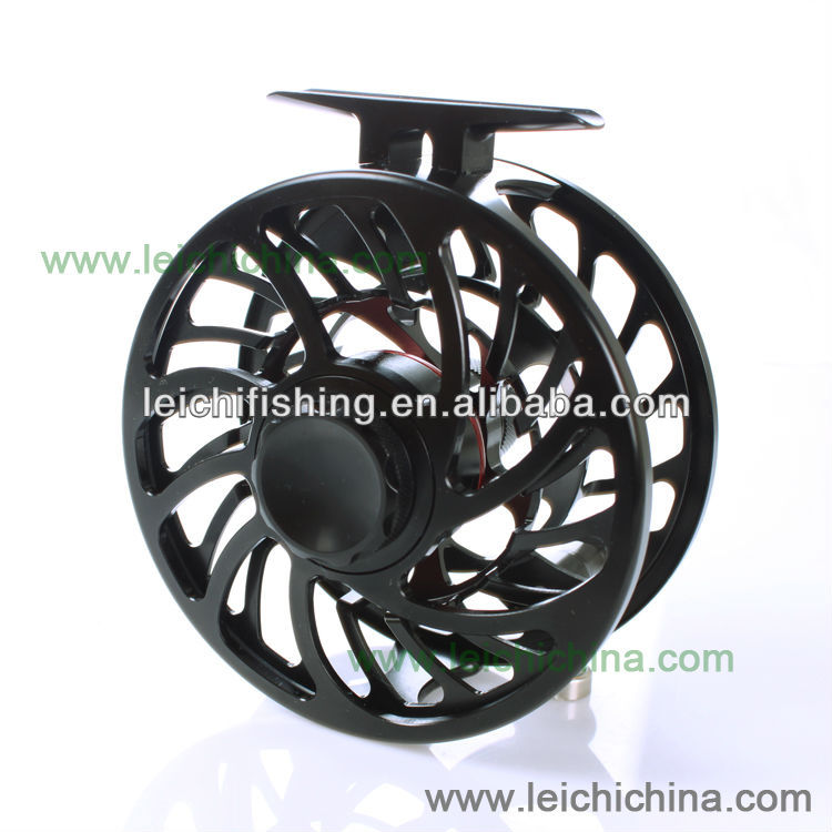 Alloy machine cut fly fishing saltwater fly reel