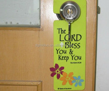 Carton Customized design EVA door hanger