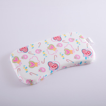 Wholesale Cheap Fashion Comfort Custom Design Cute Washable Flat Head Toddler Kids Memory Foam Head Pillow