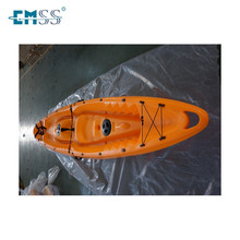 High level PE EP-04 plastic kayak for two person