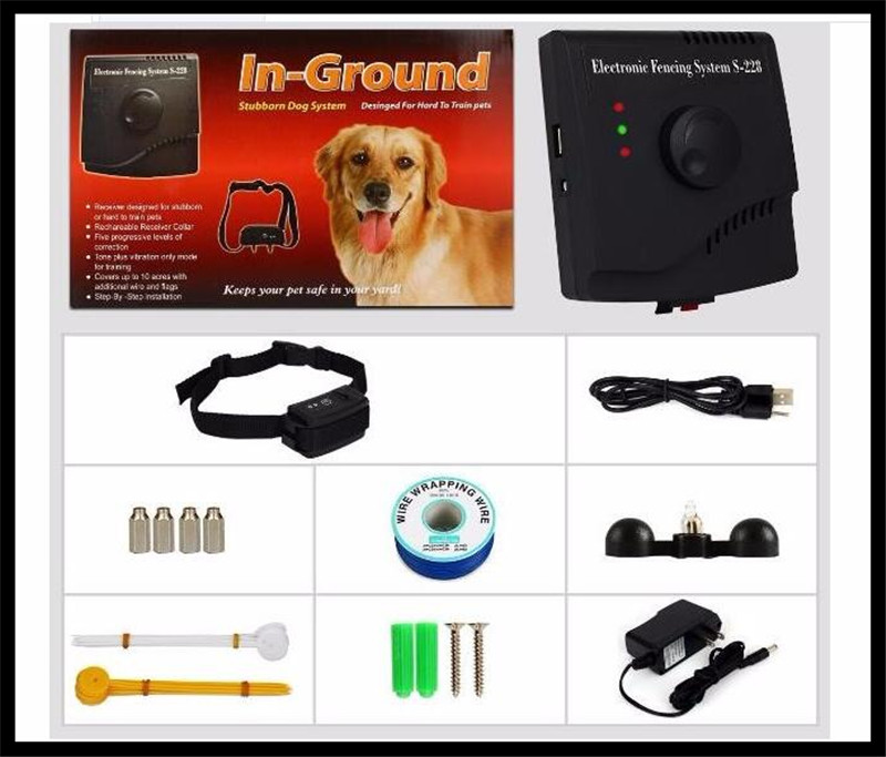 2017 newest high quality oem welcome water proof in ground electric outdoor dog fence