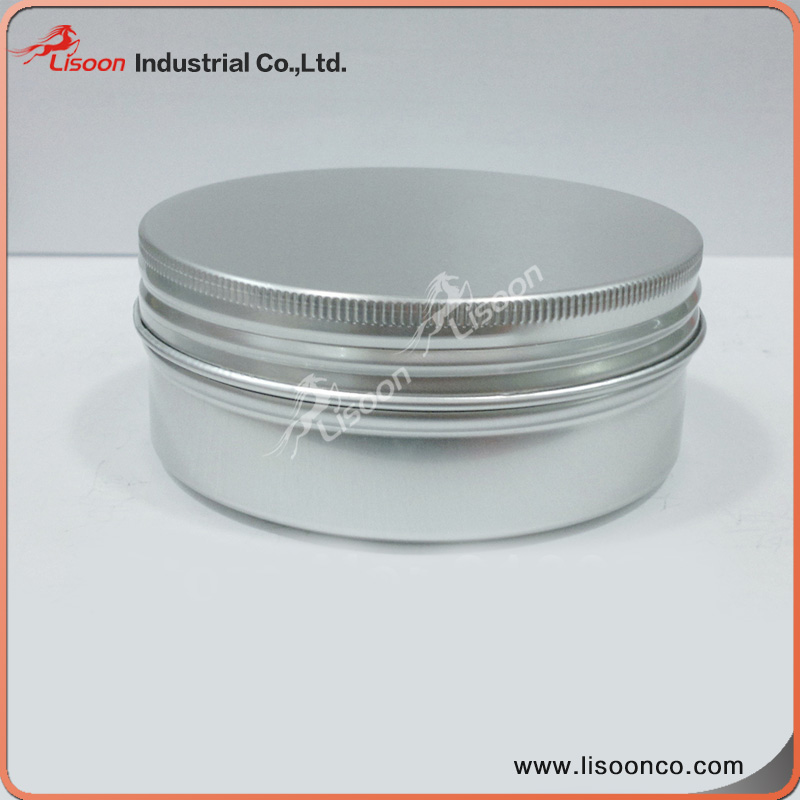 Round customized skin care cosmetic body cream jars, empty makeup jars