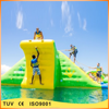 New design rock climbing wall inflatable slide water park for sale