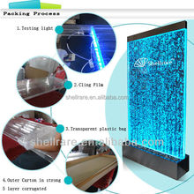 bar decorative screen acrylic water bubble wall with led light room divider