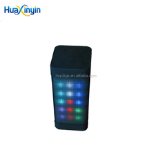 Multi-Color Flash LED Light Wireless Bluetooth Speaker with Built-in Microphone Support USB