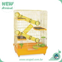 Beautiful and highest quality large 3 level wire Ferret Cage