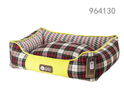 High quality and fashion washable comfronatle Grid dog kennel of rosey form