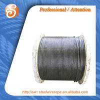 steel wire ropes for lifting, electro galvanized, steel wire rope