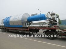 2012 the competitive price waste tire oil pyrolysis plant