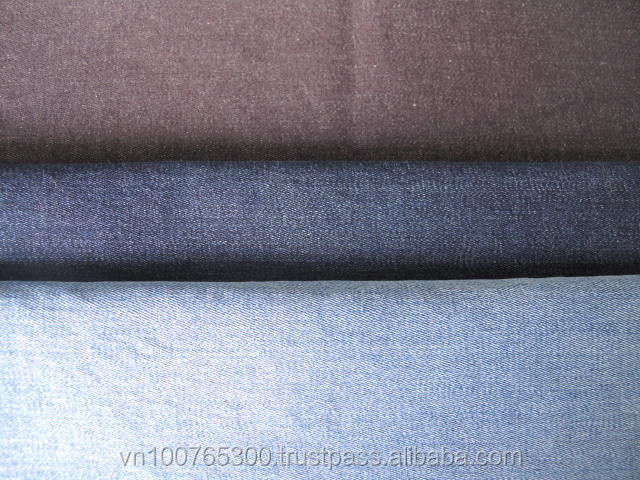 8.5oz stretch denim fabric Vietnam with 98% cotton 2% spandex