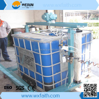 High efficiency stainless steel chemical liquid automatic paint mixer, disperser