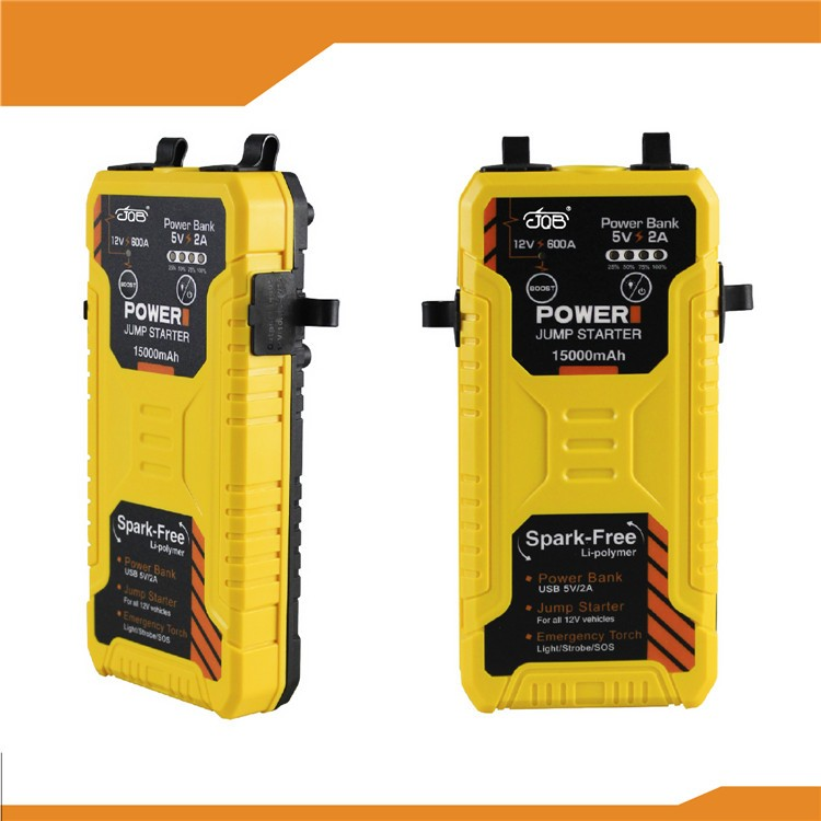 7.0L petrol & diesel auto start power bank jump starter,12V vehicle emergency tool and 3 modes LED light