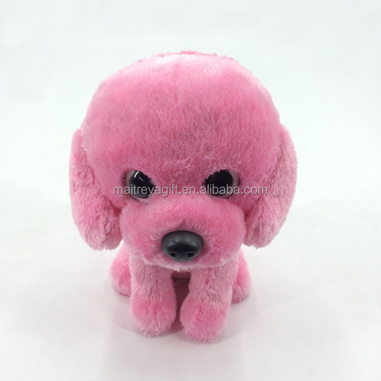 Plush animal feisty pet plush toys custom stuffed poodle puppy in direct factory