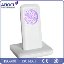 Handheld light therapy system with treatment panels for aging/acne/hyperpigmentation