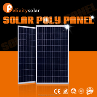 Felicitysolar high quality high efficiency 150w poly pv solar panel