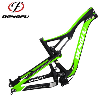 Dengfu FM288 full suspension 27.5er mtb carbon frame 650b mountain bikes all mountain bike frame