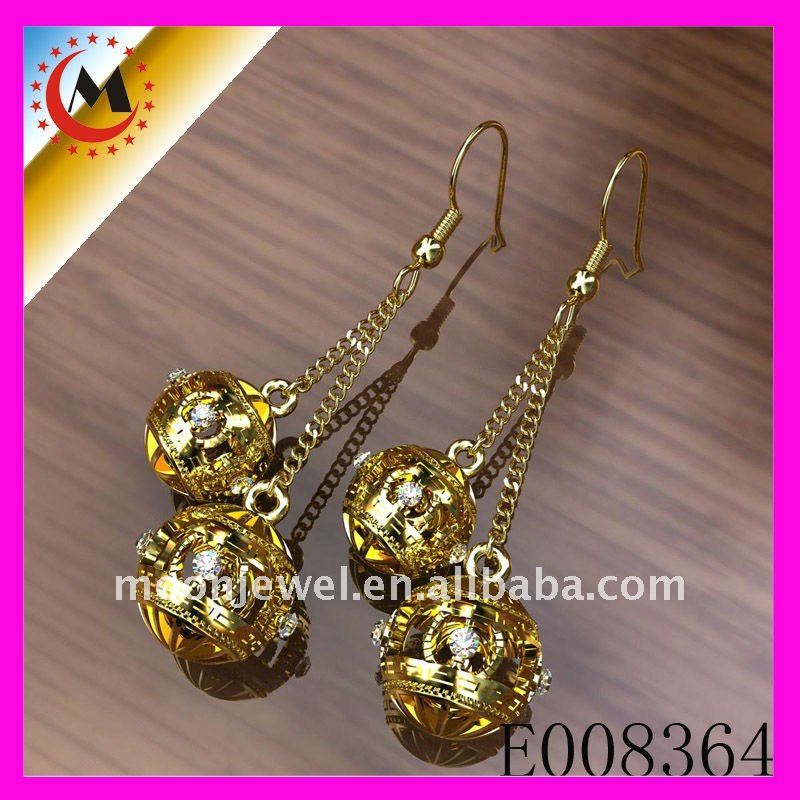2012 FASHION ALLOY EARRING DECORATION / CARD PACKING ALLOY EARRING / YIWU ALLOY EARRING