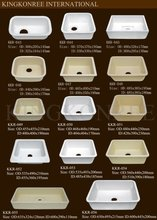 kingkonree polished hard acrylic sink kitchen