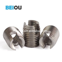 M8-1.25 Self Tapping Thread Inserts for Aluminum Hole