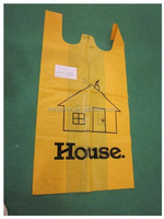 China Manufacture custom printed plastic t shirt shopping bags