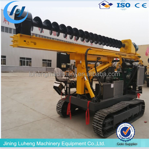 Truck Mounted Hydraulic Highway Guardrail Pile Driver