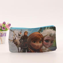 Promotional Custom Zipper Bag Eco Friendly PVC Pencil Bag For School Kids