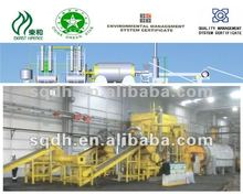 rubber recycling to fuel oil machine with 10 MT/batch of WJ-8 batch model