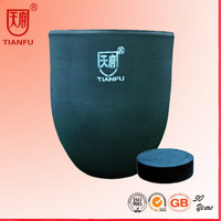 SiC Foundry Graphite Crucible For Aluminum/Copper/Gold/SIlver/Zinc Melting