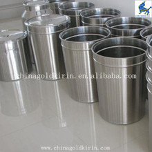 conical stainless steel buffer tank
