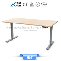 """Computer Desk Home Office Table 51"""" Height Adjustable"""