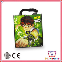 ICTI Factory new fashion custom recycle rpet non woven shopping bag