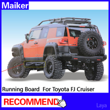 SUV side step for Toyota FJ Cruiser Running board car accessories from Maiker Auto