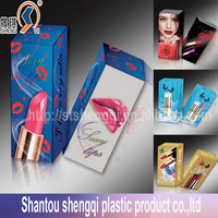 Custom made plastic box for lipsticks,small PET/PP plastic packing boxes