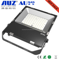 Ultra Slim etl dlc approved outdoor 100w 150w led flood light