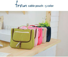 fashion cosmetic bag,From cable pouch wash bag, lovely travel bag