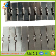Chian manufacturer of heat resistance tracking guides conveyor belt for ceramics