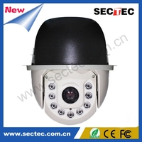 7 inch IR high speed dome camera ir outdoor ptz camera 18X optical zoom ptz analog camera