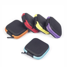 Waterproof Portable Carry Zipper Mini Eva Earphone Case